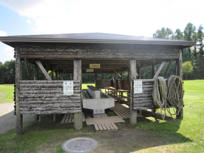 森林キャンプ場
