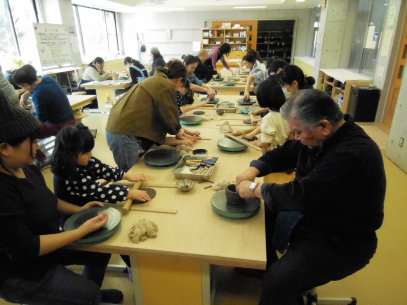 1月の陶芸・絵付け体験