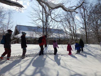 冬の森の探検隊 IN 開拓の村