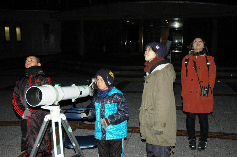 星空観察会~冬の星空と1等星めぐり~