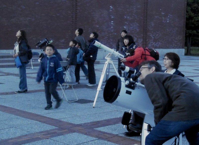 星空観察会~月と春の星座を観察しましょう~