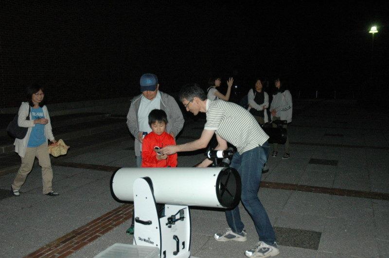 星空観察会~木星と土星を観察しましょう~