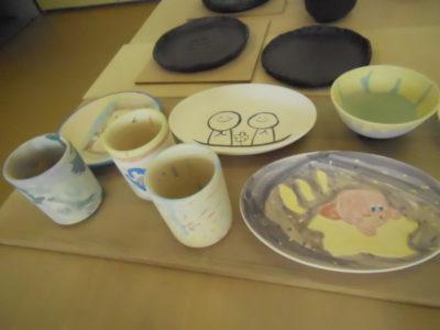 えべつやきもの市 陶芸・絵付け体験