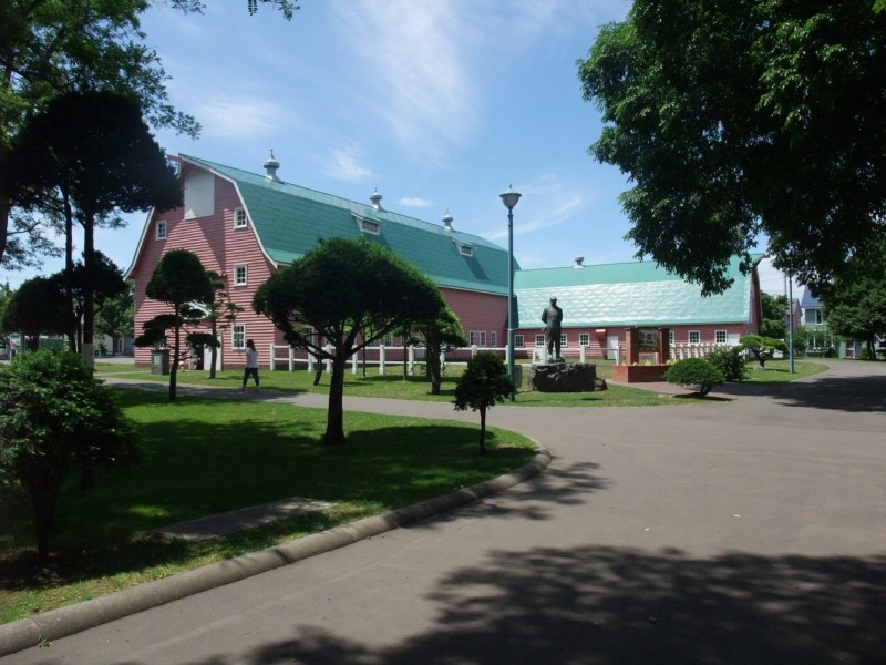 旧町村農場 ミルク教室