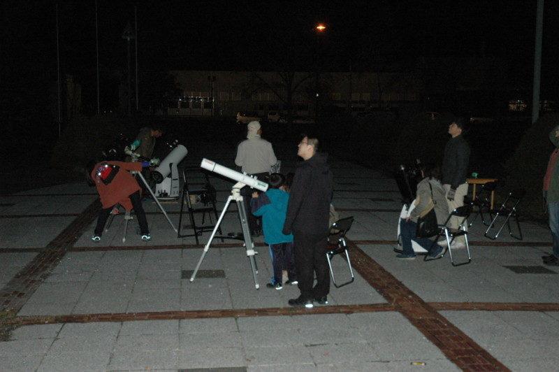 星空観察会~アンドロメダ銀河と二重星団を観察しましょう!