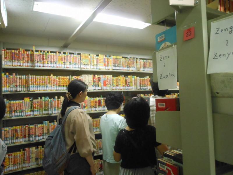 北海道立図書館 書庫ツアー 「音楽への誘い」