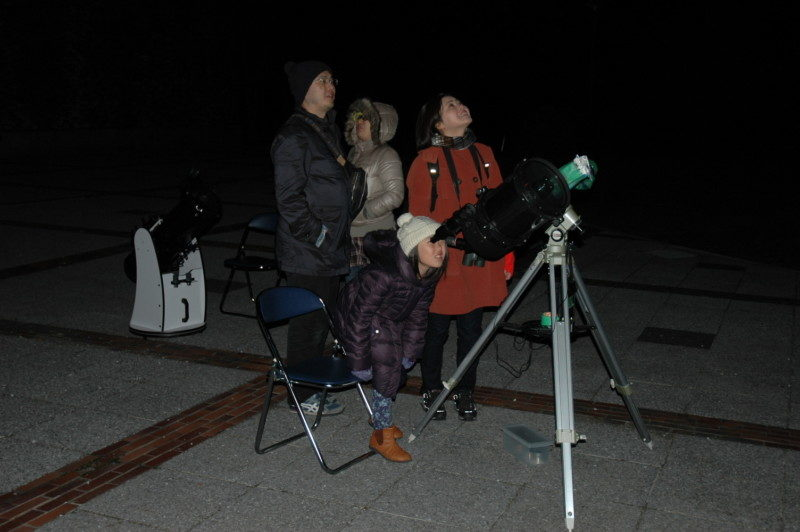 星空観察会「天王星と海王星を観察しましょう」