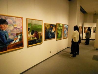 第5回江別市中学校・高校美術部合同展