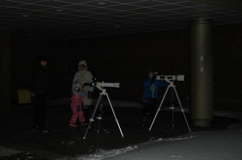星空観察会~ふたご座流星群を観察しましょう~