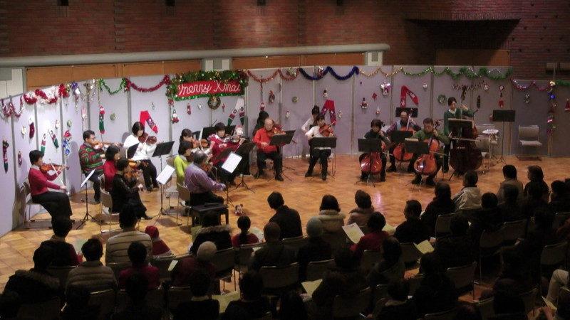 2019 クリスマスコンサート in コミュニティセンター