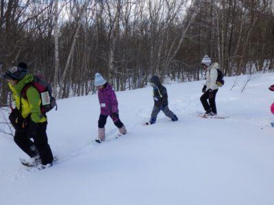 親子観察会「冬の森の探検隊」