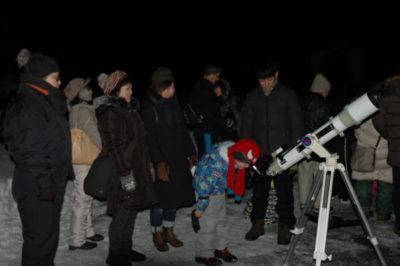 星空観察会~オリオン大星雲を観察しましょう~