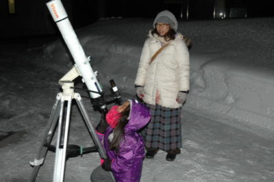 星空観察会~冬の星座と1等星めぐり~