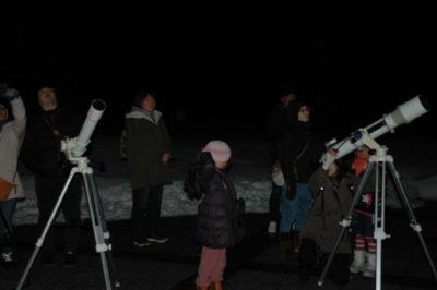 <中止>星空観察会~冬の星座から春の星座へ~