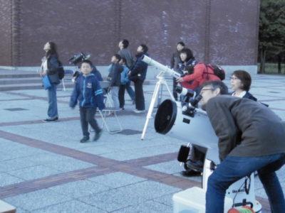 星空観察会~春の星座を観察しましょう~