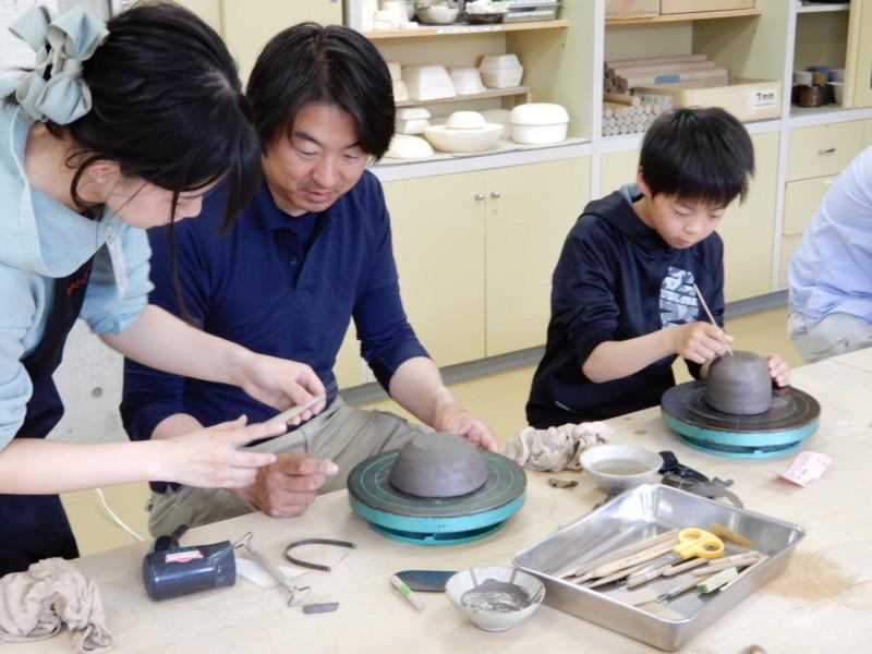 6月の陶芸・絵付け体験