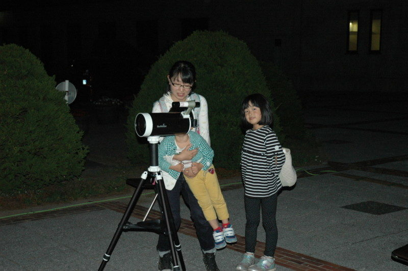 <中止>星空観察会~月とヘルクレス座の球状星団M13を観察しましょう~