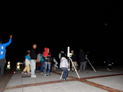 星空観察会~火星を観察しましょう~
