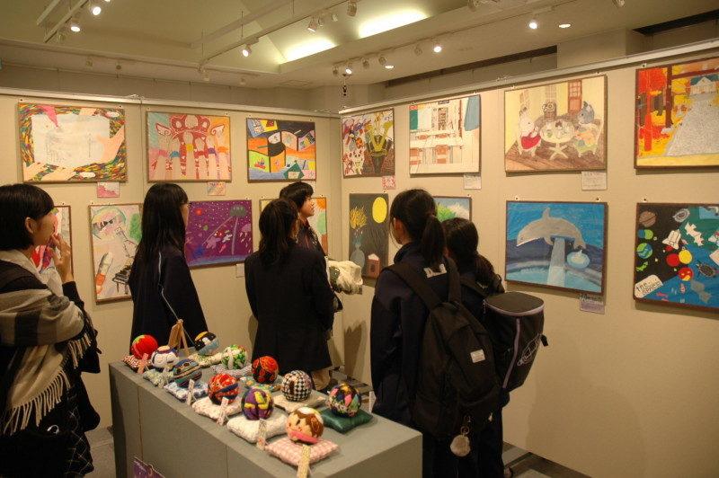 第6回江別市中学校・高校美術部合同展