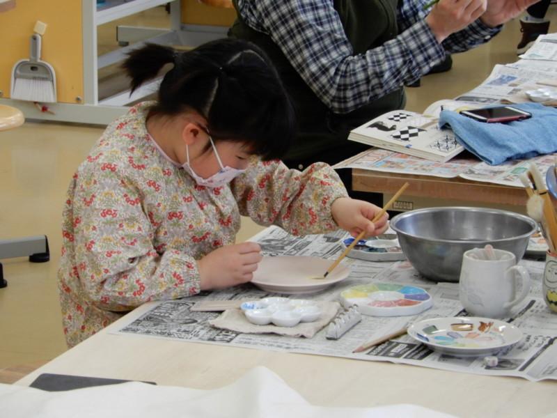 5月の陶芸・絵付け体験
