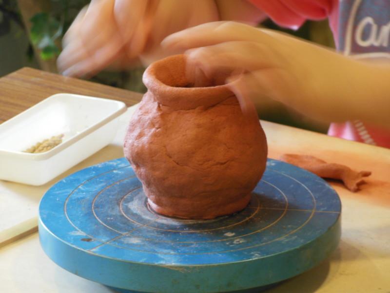 ≪夏休み企画≫ 縄文土器を作ろう!