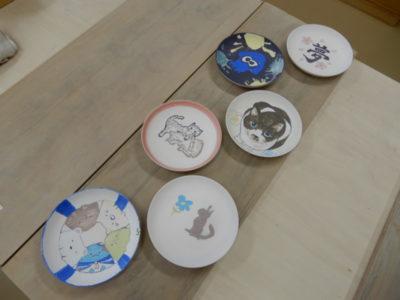 8月の陶芸・絵付け体験